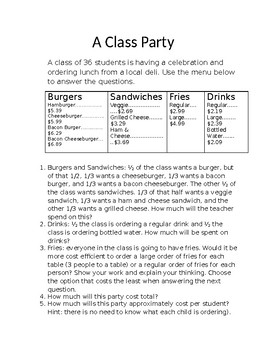 A Class Party