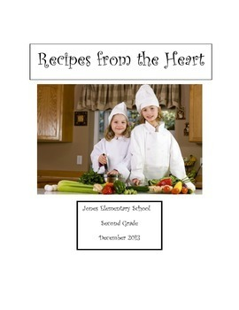 A Class Recipe Book Writing Project