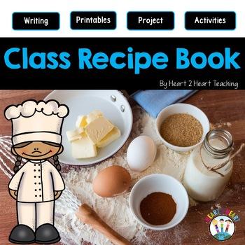 A Class Recipe Book Writing Project