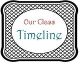 A Class Timeline