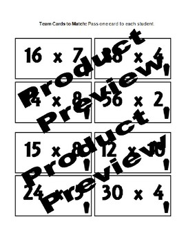 Classroom Escape Activity -GET OUT Multiplication Edition