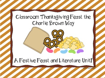 A Classroom Feast the Charlie Brown Way