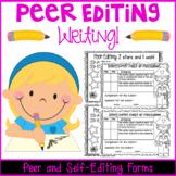 Peer Editing Writing