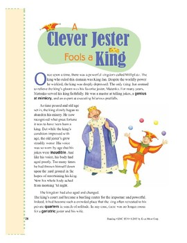 A Clever Jester Fools a King