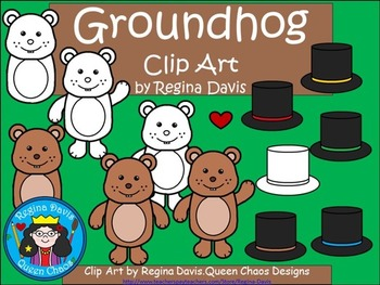 A+ Clip Art: Groundhog