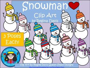 A+ Clip Art: Snowman