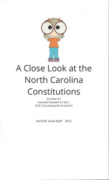 A Close Look at the North Carolina Constitutions