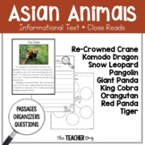Close Read - Asian Animals