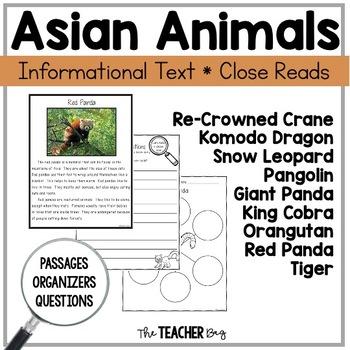 Close Read - Asian Animals