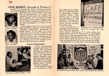A Close Reading of Sept 1951 Magazine Article CIVIL RIGHTS: Strength or Weakness