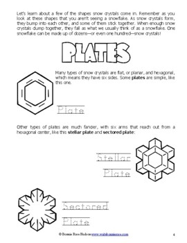 A Closer Look at the Science of Snowflakes-Learning About Science, Level 3 Print