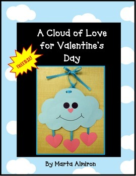 A Cloud of Love for Valentine's Day - FREEBIE