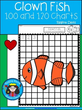 A+ Clown Fish: Numbers 100 and 120 Chart