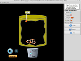 States of Matter Simulator: Phase Transitions, Thermal Ene