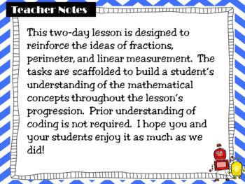 A Coding and Content Math Lab: Perimeter