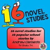 A Collection of Clements' School Stories: 13 Novel Studies