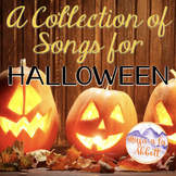 Halloween Music: A Collection of Halloween Songs and PDFs