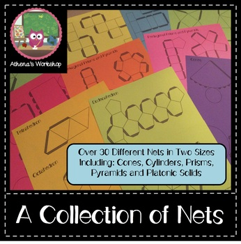 A Collection of Nets - 3D Solids