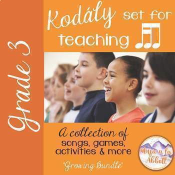 A Collection of Songs, PDFs & More for Teaching tika-ti {A Growing Bundle}