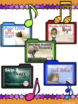 A Collection of Songs, PDFs and More for Teaching low la {A Growing Bundle}