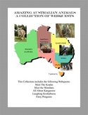 Animals of Australia-A Collection of Webquests