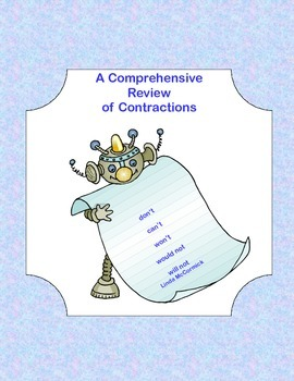 Comprehensive Review of Contractions-Worksheets