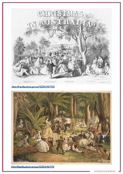 A Colonial Christmas Resource Bundle
