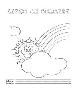 A Color Book (Libro de Colores-primarios y secundarios) SPANISH