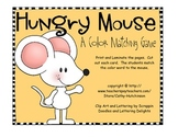 A Color Matching Center for Early Elementary - Hungry Mouse