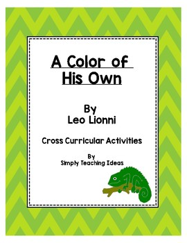 A Color of His Own - A Cross Curricular Activity Bundle