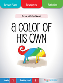 A Color of His Own Lesson Plans & Activities Package, First Grade (CCSS)