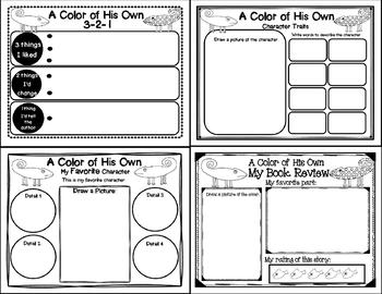 A Color of His Own (Story Companion with story and nonfiction QR codes)