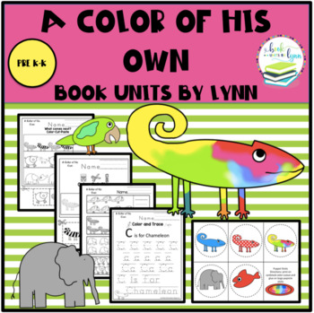 A Color of His Own by Leo Lionni  Book Unit