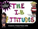 A Colorful IB Attitudes Poster Set