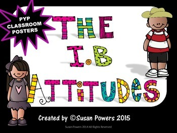 A Colorful IB Attitudes Poster Set