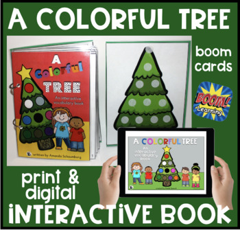 A Colorful Tree! An interactive & adaptive book
