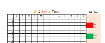 A Colorful Year (A Regular Year)