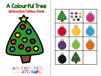 A Colourful Tree Interactive Colour Book