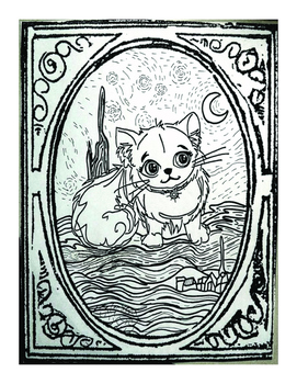 A Colouring Page FREEBIE From Oliver