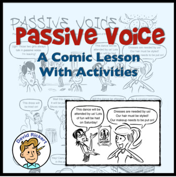 Passive Voice: A Comic Lesson With Activities