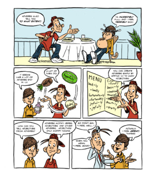 Adjectives: A Comic Lesson with Activities