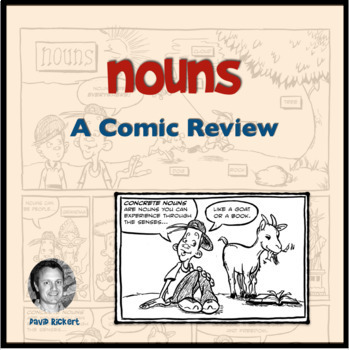Nouns: A Comic Lesson with Activities