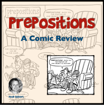 Prepositions: A Comic Lesson with Activities