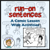 Run-On Sentences: A Comic Lesson with Activities