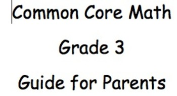 A Common Core Guide to Third Grade - Module 1