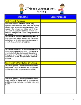 A Common Core Teacher Journal! For all your ideas and lessons! 2nd Grade