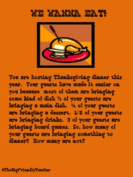 A Common Core Thanksgiving Unit