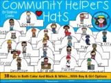 A+ Community Helpers Hats