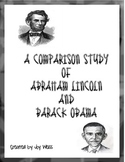 A Comparative Look at Barack Obama and Abraham Lincoln