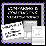 Compare and Contrast: Two Vacation Towns